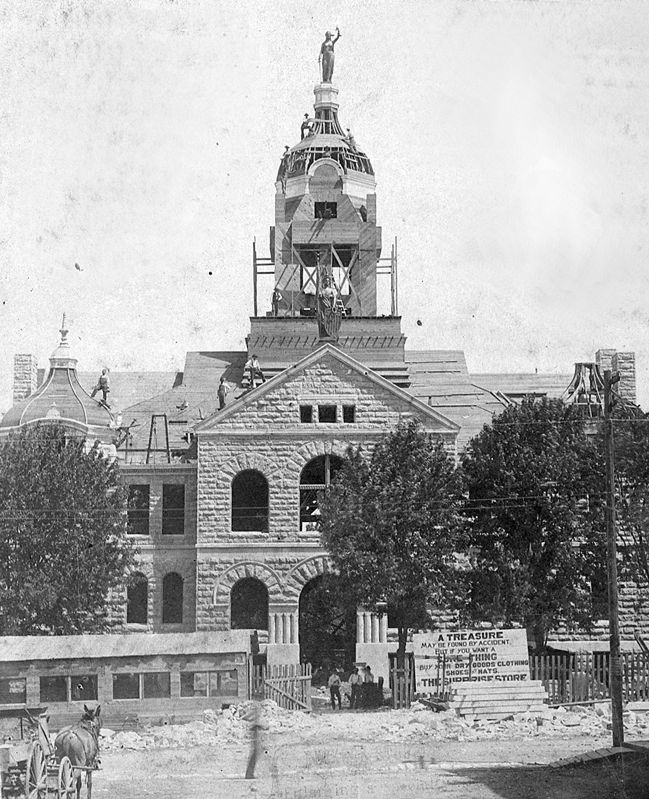 Courthouse construction, 1901