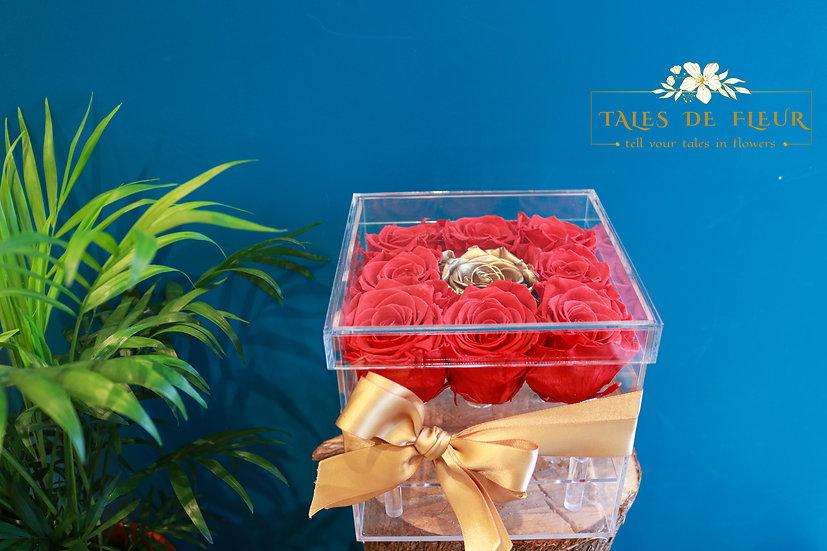 Crystal Rose Box