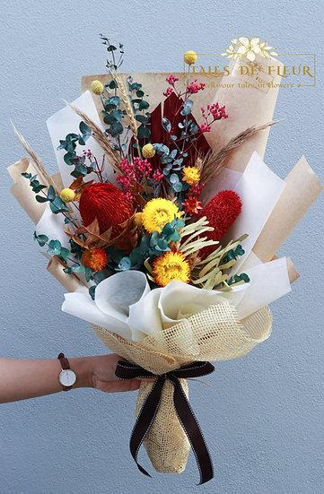 Everlasting Bouquet- Bright Color
