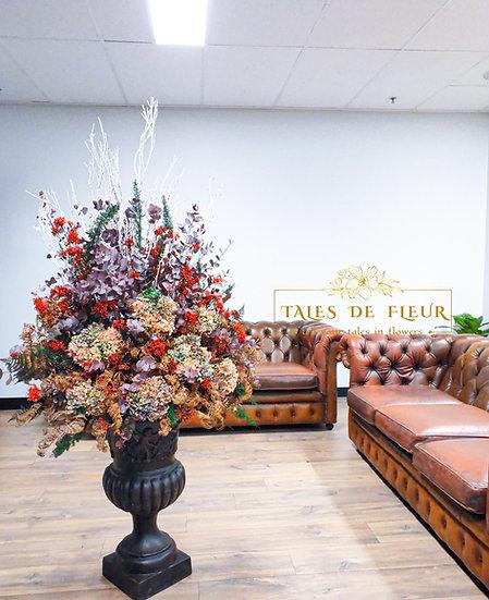 1.6m Flower Arrangement for office (Custom-made)
