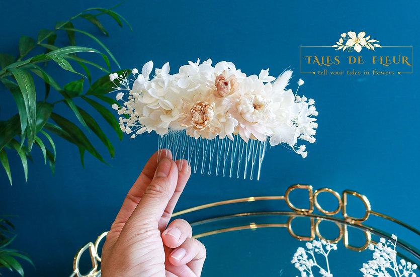 Flower comb (Custom-made)
