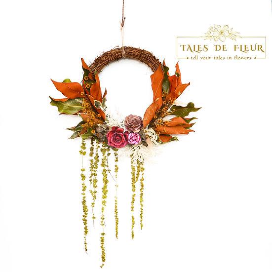 Flower Wreath-Waterfall