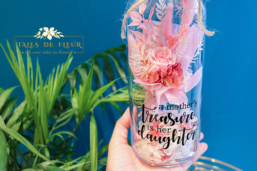 Rosy Botanical + Your Personalised Message