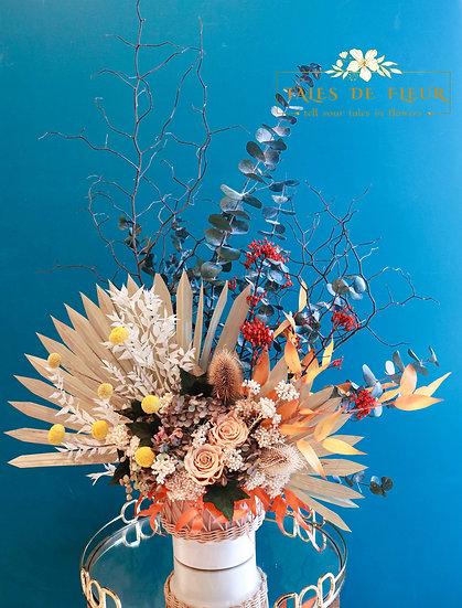 Floral Fantasy (two-sided arrangement)