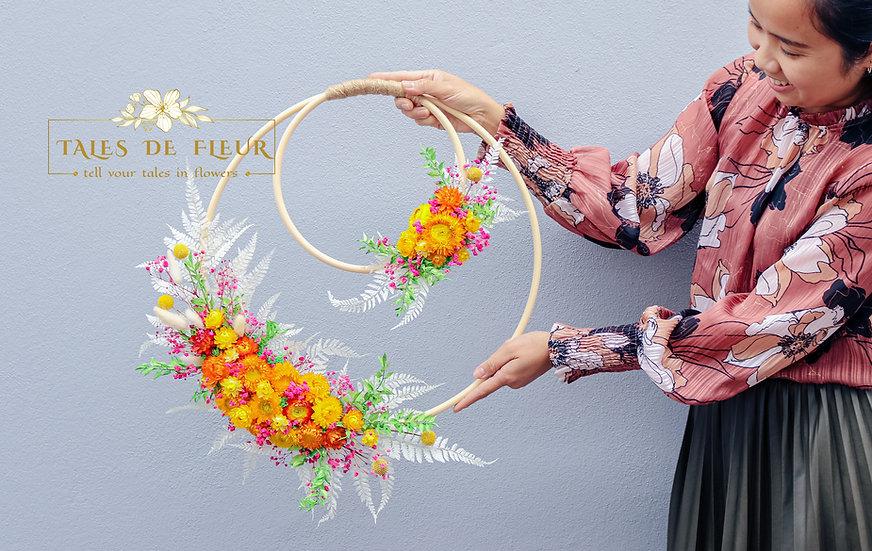For Muneet ( Cutom-made Wreath)
