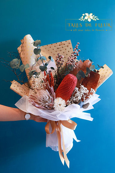Everlasting Bouquet- Australia Protea