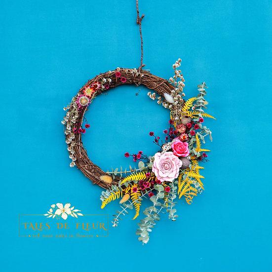Flower Wreath- Stylish Spring