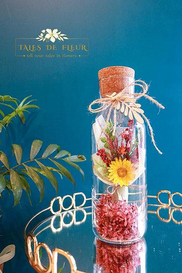 The Spring Capsule - Yellow Strawflowers