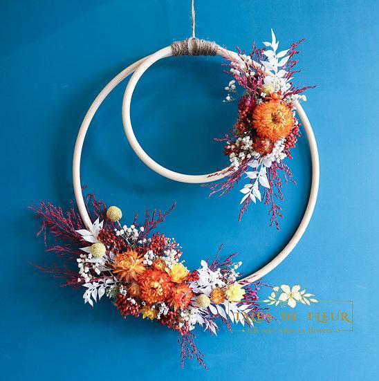 Flower Wreath- Double Love