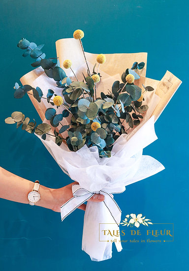 Everlasting Bouquet- Billy Button