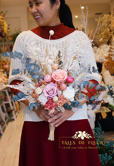Bridal Bouquet with rose- from $ 180