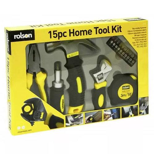 Home Tool Kit 15pcs (36807)