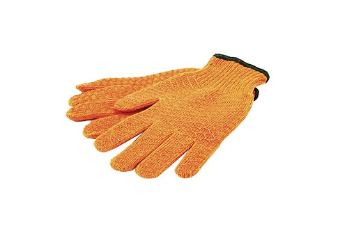 Polycotton / Pvc Work Gloves (60648)