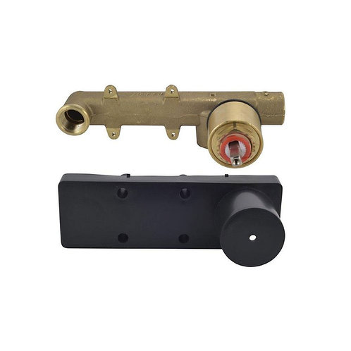 In-wall Body of Single Lever Built-in Manual Valve