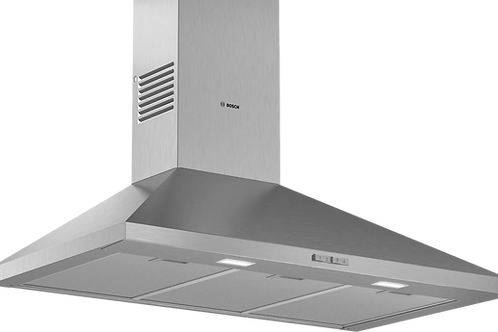 Serie | 2 Wall-mounted cooker hood 90 cm Stainless steel DWP94BC50B