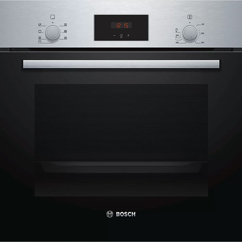 Serie | 2 Built-in oven 60 x 60 cm Stainless steel HBF113BS0B