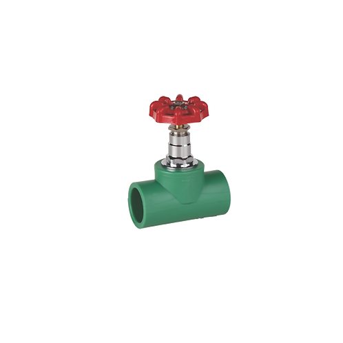 PPR Gate Valve Screw Tap with Hand Wheel