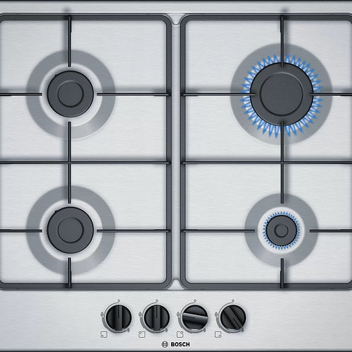 Serie   4 Gas hob 60 cm Stainless steel PGP6B5B60