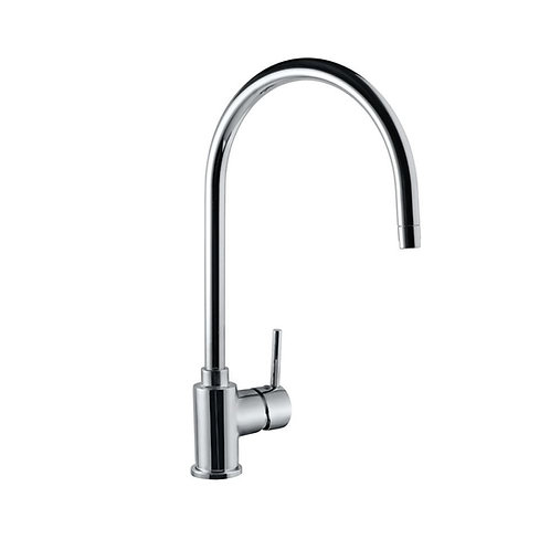 Side Single Lever Mono Sink Mixer with Swivel Spout