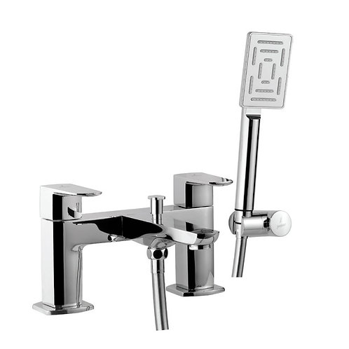 H Type Bath and Shower Mixer with Shower Kit
