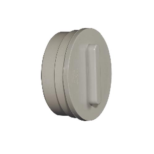 PVC Access Plug Plus Cap-Clean Out