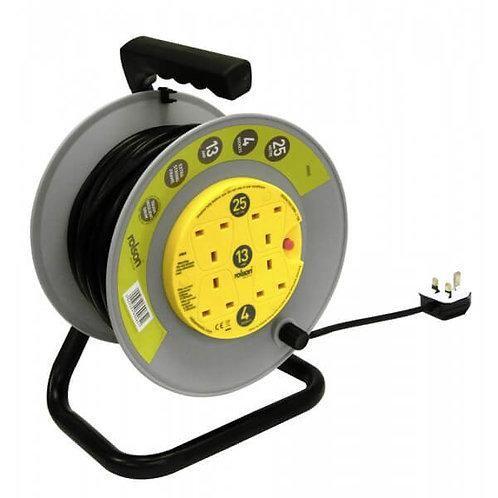 HD Cable Reel 13A 4 Socket 25m ( 60065 )