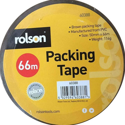 Brown Parcel Tape 50mm (60388)