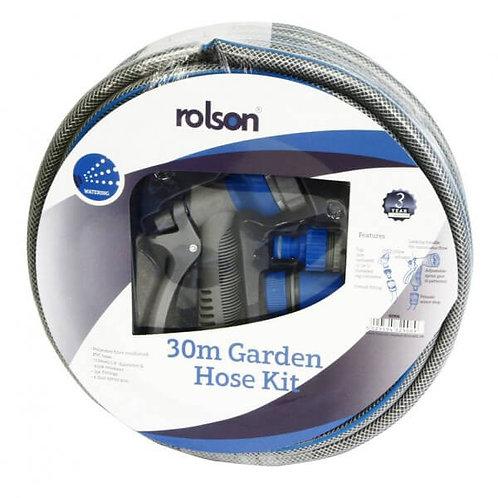 30m Hose Pipe + Spray Gun & Connectors (82906)