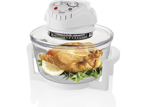MELLERWARE 12 LTR CONVETION COOKER GLASS WHITE 1400W (27620A)