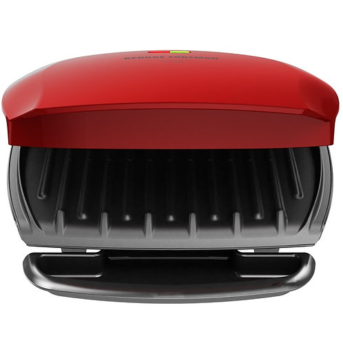 GEORGE FOREMAN BASIC PLATE GRILL - RED (GR2080)