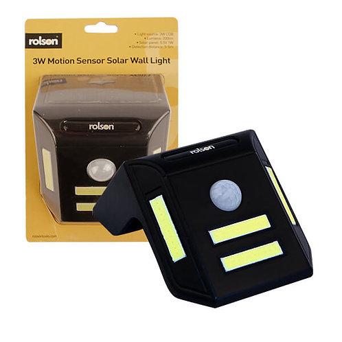 Solar Wall Light 3w Motion Sensor ( 60686 )