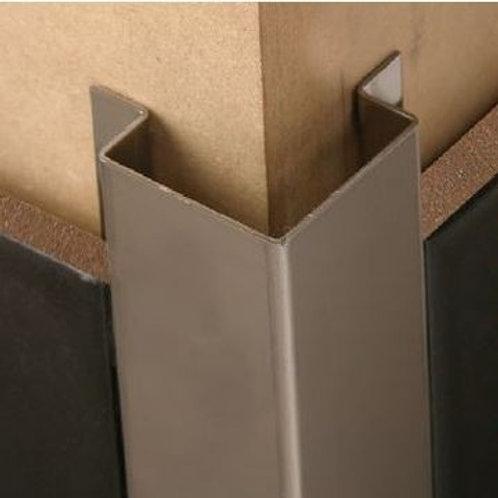 STAINLESS STEEL TILE-IN CORNER PROTECTOR - External Corner