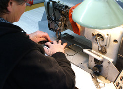 Machining of fabric