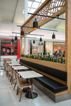 The Palms Foodcourt Client: MWF Manufacturing Ltd, Designer: Hierarchy