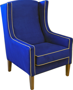 Preston Chair with contrast piping