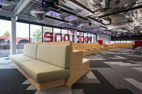 Vodafone Christchurch Client: MWF Manufacturing Ltd, Designer: Jasmax