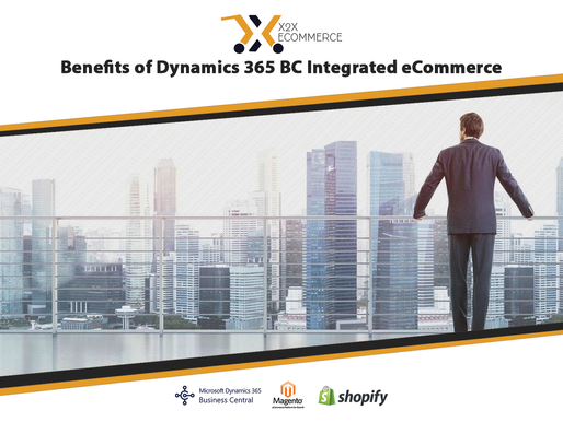 Benefits of Dynamics 365 BC Integrated eCommerce