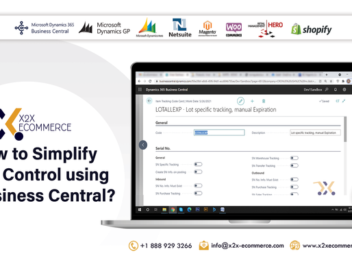 How to Simplify Lot Control using Business Central?