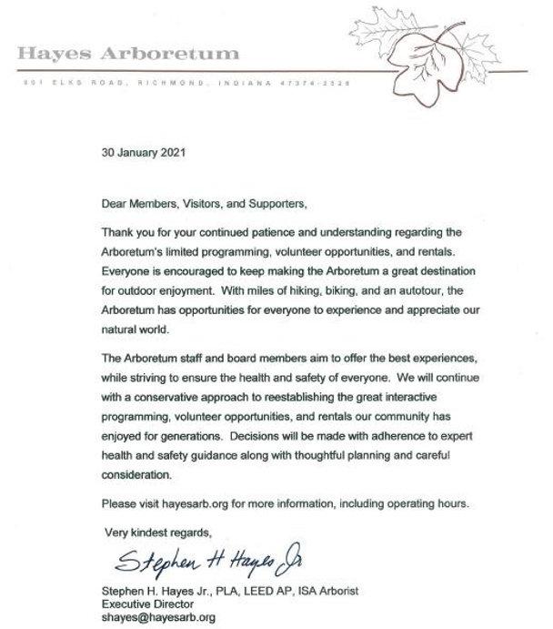 Pandemic Letter.JPG