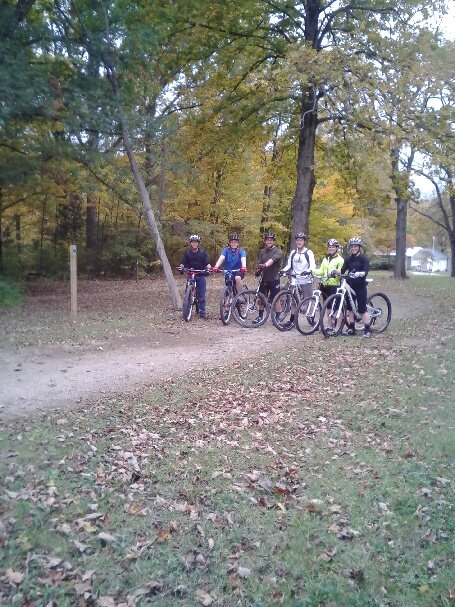 Fall Mountain Biking