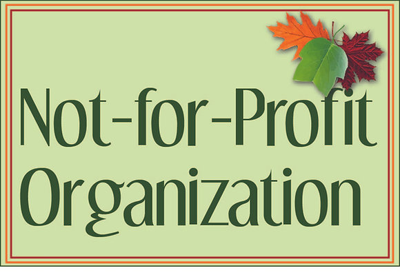 Not-For-Profit Organization
