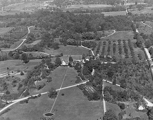 Early Aerial View
