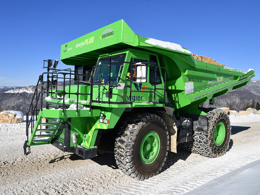 The Grid | Electric truck mines own energy