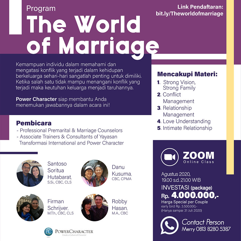 The World of Marriage