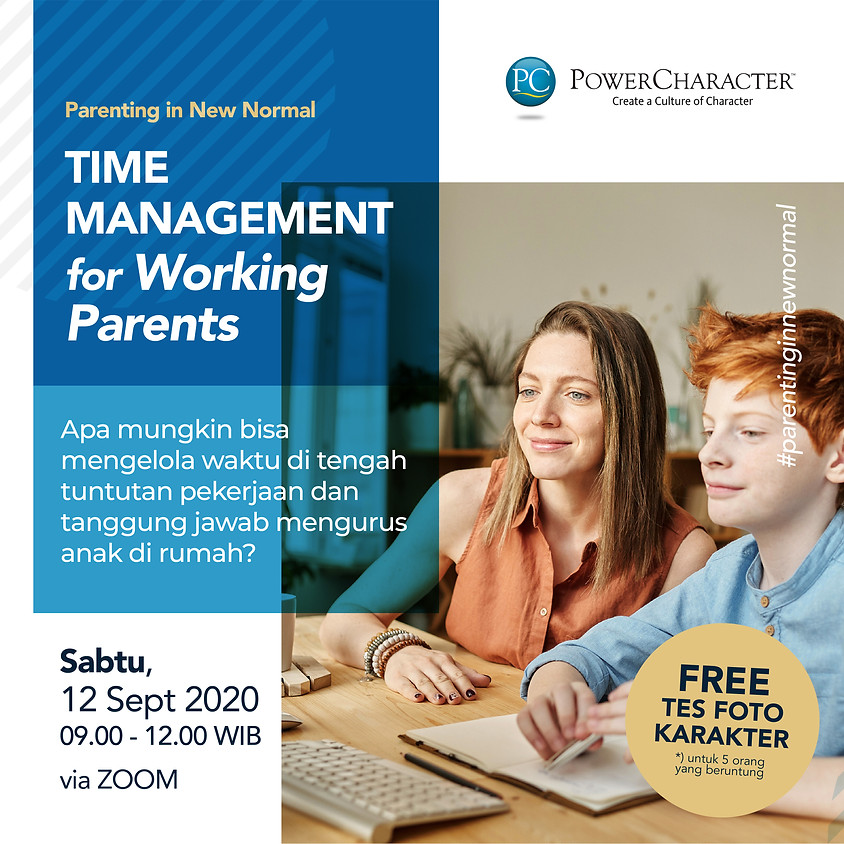 Parenting in New Normal: Time Management for Working Parents