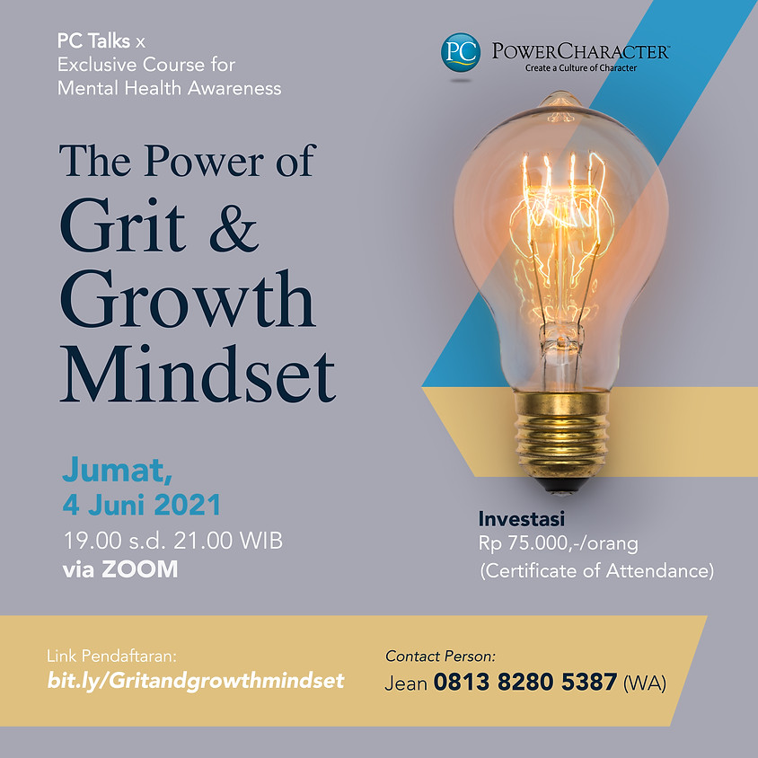 The Power of Grit & Growth Mindset