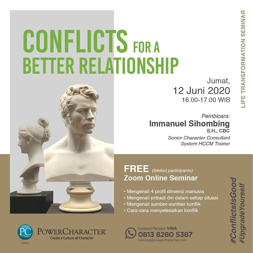 Conflicts For A Better Relationship