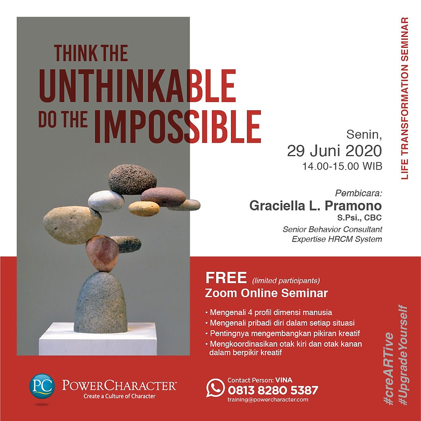 Think The Unthinkable Do The Impossible