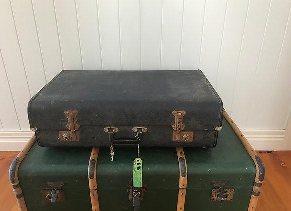 Vintage Suitcase - Blue
