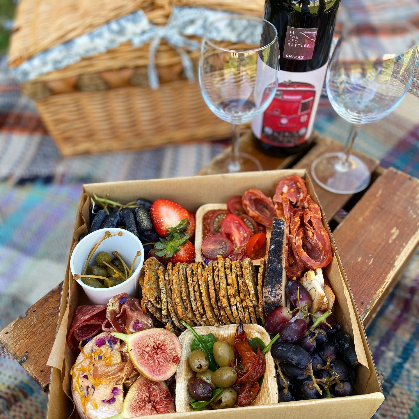 Sweetheart Picnic for two